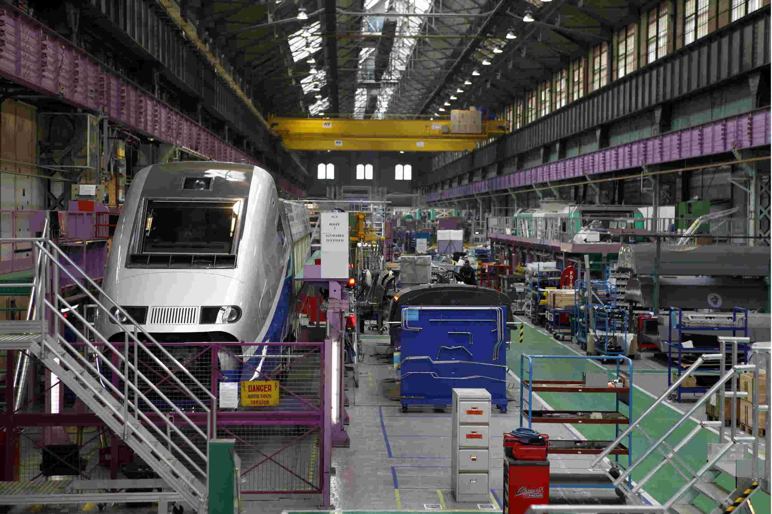 ValRail - Société d'Etat de systèmes de transport (1 MRV) Usine_10