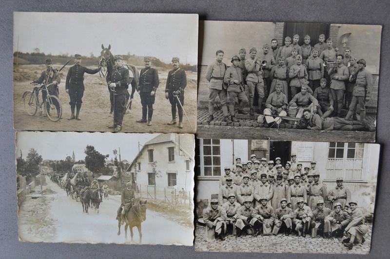 Lot 13 photos/cartes d'époque bien régimentées. CLOTUREE. Dsc_1326