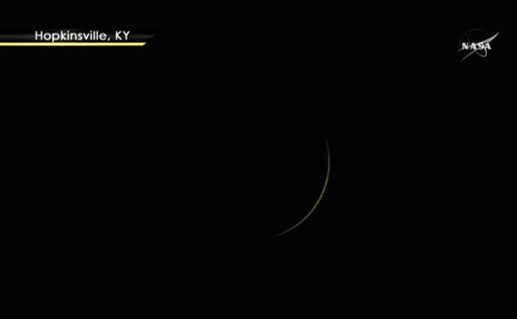 L'éclipse en direct Captur77