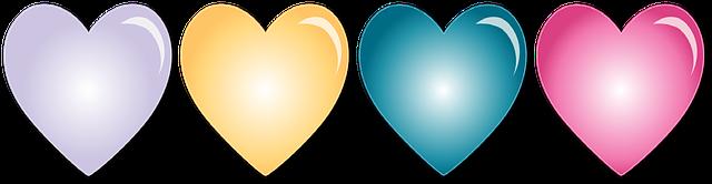 BON SAMEDI BONNE FIN DE SEMAINE Hearts10