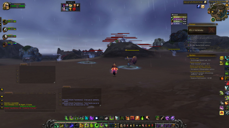Armes prodigieuses et roleplay Wowscr19