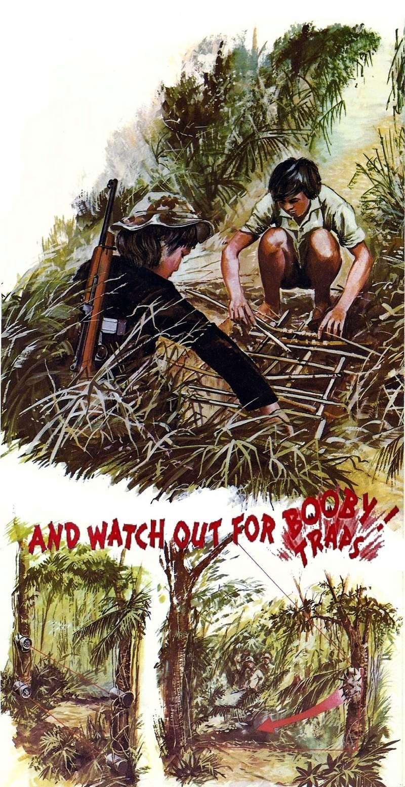 Les pièges en bambou Vietcong (Booby traps) partie 2 Bbvv10