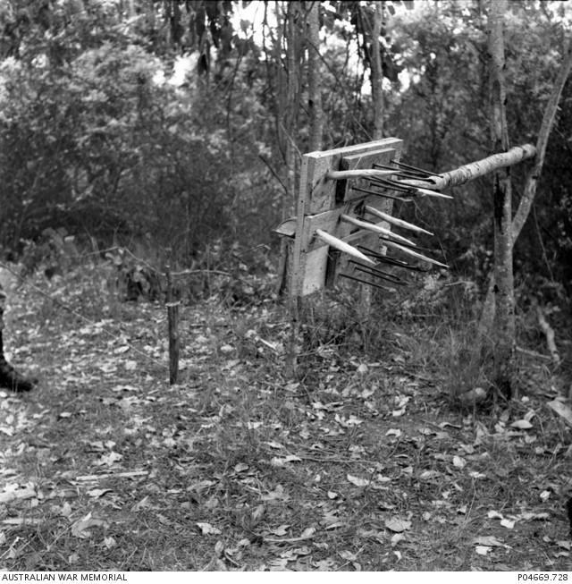 Les pièges en bambou Vietcong (Booby traps) partie 2 P0466910