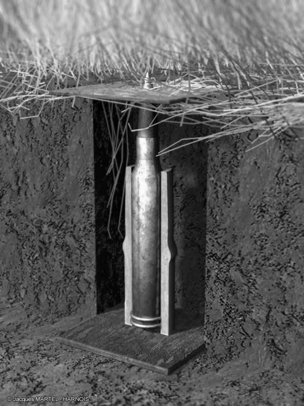 Les pièges en bambou Vietcong (Booby traps) partie 2 Piege-10
