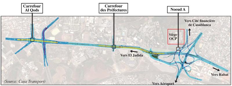 BREVES - Casablanca : la route d'El Jadida bientôt désengorgée... Carref10