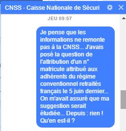 cnss - CNSS : Quand Ubu fut roi  ou les tribulations d'un quidam dans les méandres administratifs de la CNSS Cnss10