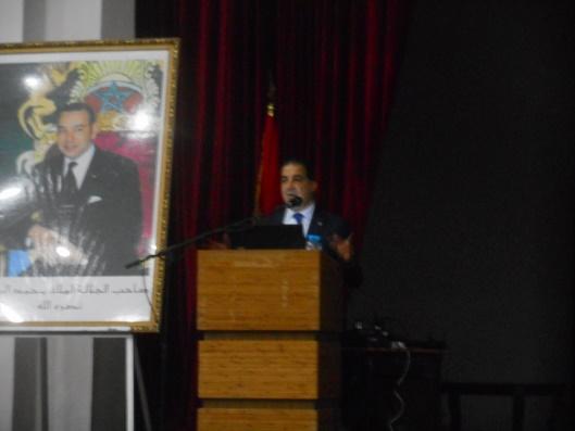 economie - Khalid Idrissi Kaitouni : L'économie marocaine, état des lieux et perspectives Dscn7510