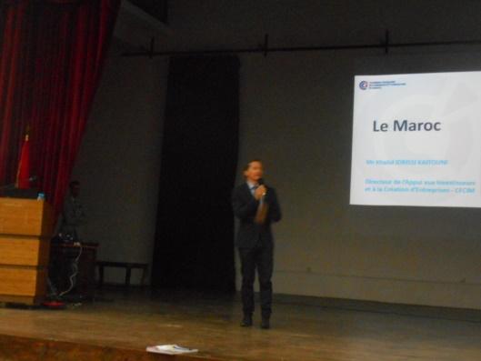 economie - Khalid Idrissi Kaitouni : L'économie marocaine, état des lieux et perspectives Dscn7511