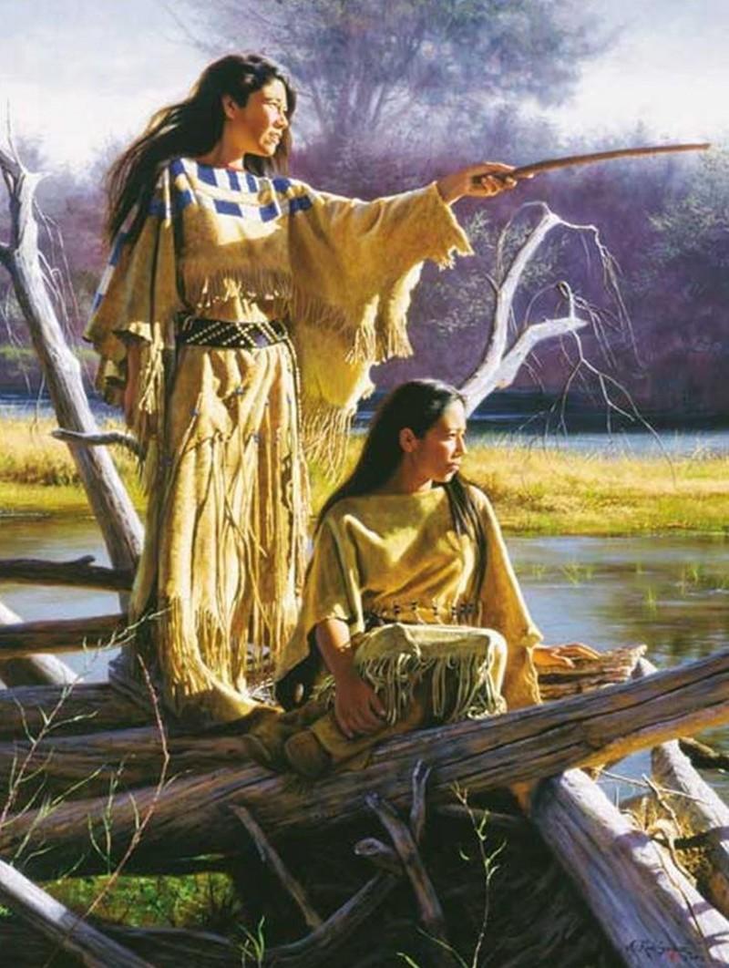 Alfredo Rodriguez, peintre des indiens et de l'ouest américain Captu143