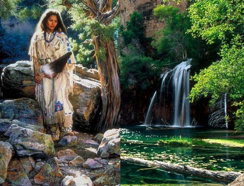 Alfredo Rodriguez, peintre des indiens et de l'ouest américain Captu149