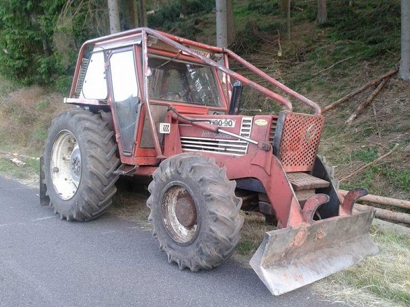 Tracteurs agricoles équipées forestier Smart132