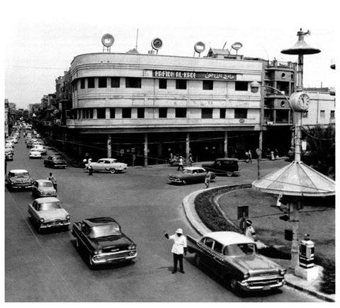 ساحة حافظ القاضي في بغداد قديمآ _ia_oi10
