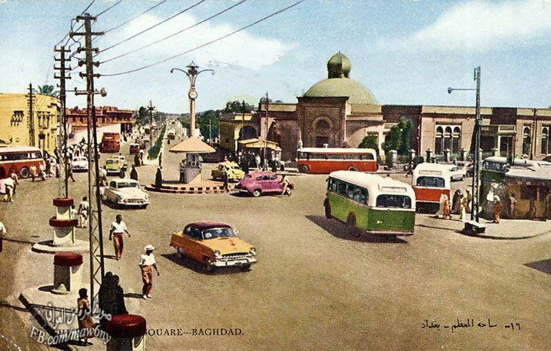 بغداد .. ساحة المعظم أيام زمان  _ooao_11