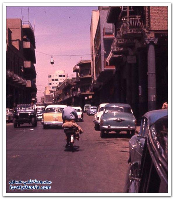 صــــور تراثيه للعراق شارع الرشيد 1960 Eeeeeu10