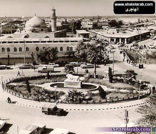 صور تراثيه عن البصره الحبيبه ساحة اسد بابل ومقام الامير Eu_au_10