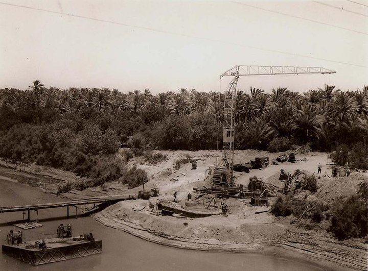 صورة في محافظة ديالى اثناء بناء جسر ديالى الحديد في عشرينيات القرن الماضي Eu_ia_10