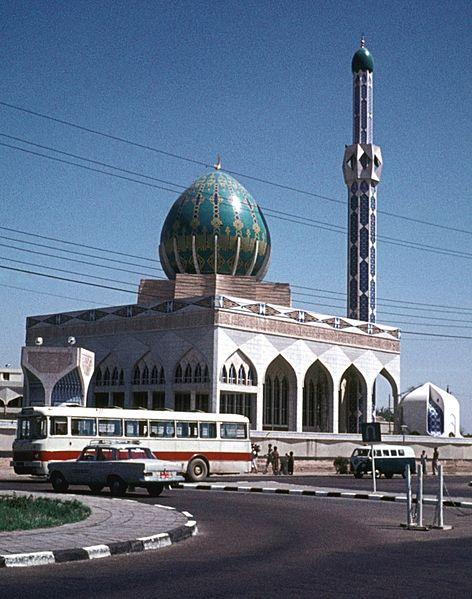 مسجد البنّية في العلاوي ببغداد عام 1973 O_ooia10
