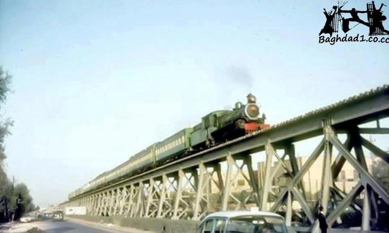 القطار المار على جسر الحديد في بغداد قديمآ Oi_oo_10