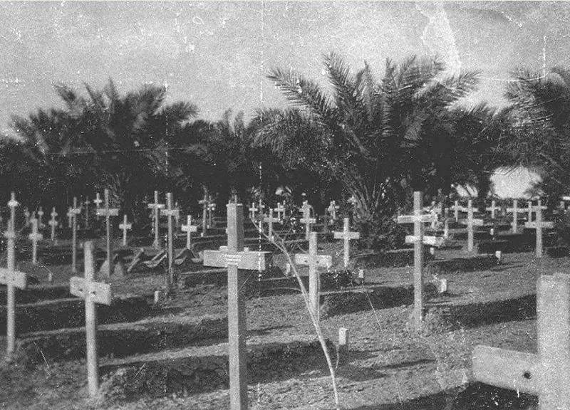 مقبرة الإنكليز في العماره عام 1919 Oi_ood10