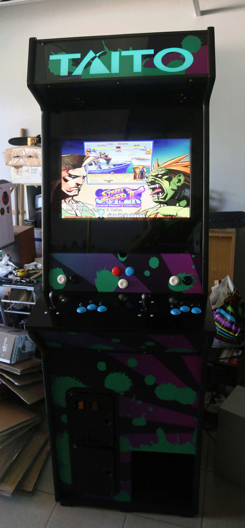 [TERMINÉ] Borne d'arcade Taito Darklvador Img_0611