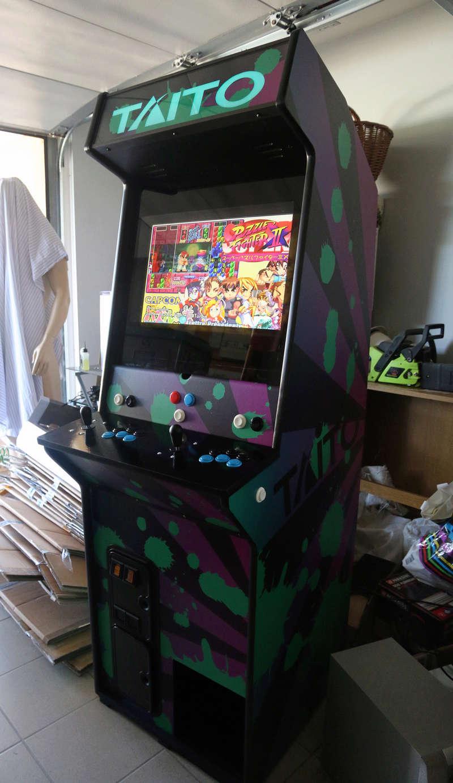 [TERMINÉ] Borne d'arcade Taito Darklvador Img_0612