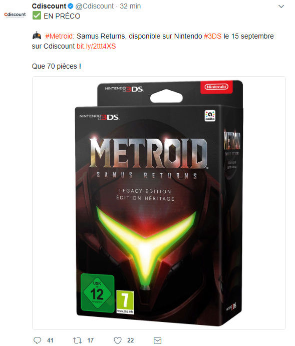 [3DS] METROID Samus Returns - Page 6 Sans_t10