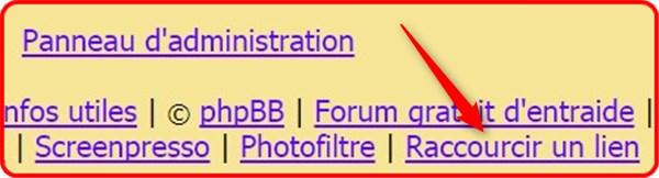 """fff - Code CSS """"raccourcir un lien"""" 328"""