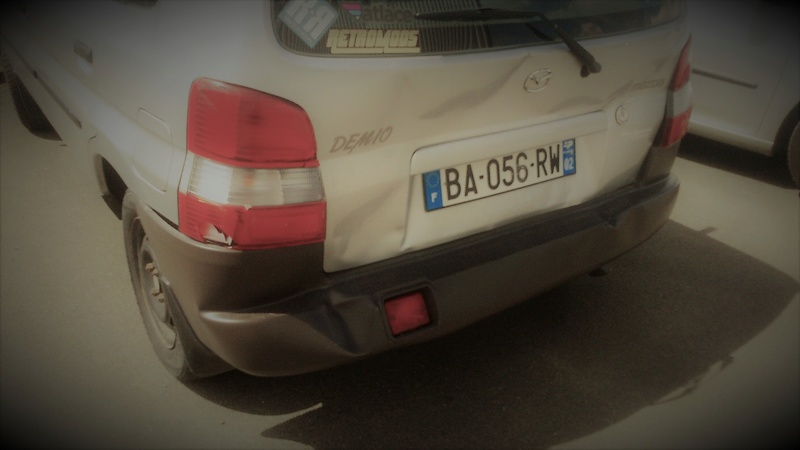 Mazda Demio bonjour,merci aurevoir Dsc_1311
