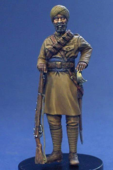 Sikh cavalry, France 1914 Resicast 1/35 Fb_img10