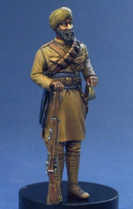 Sikh cavalry, France 1914 Resicast 1/35 Fb_img11