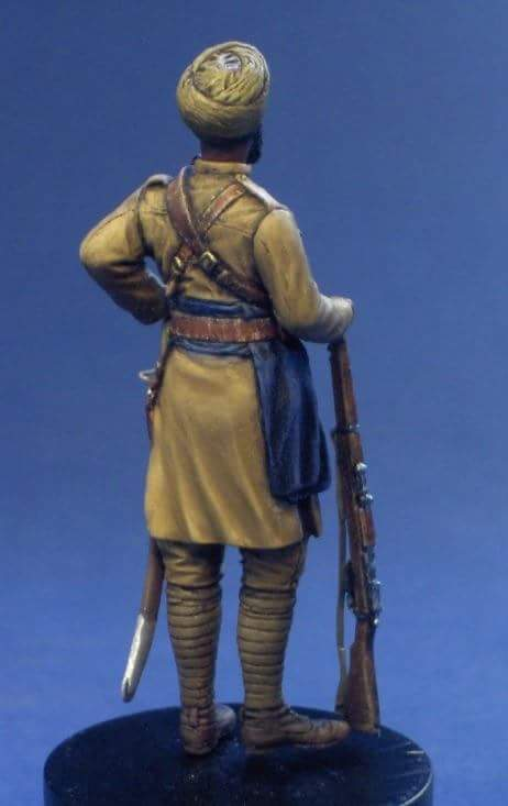 Sikh cavalry, France 1914 Resicast 1/35 Fb_img12