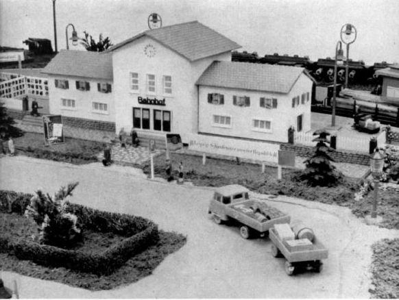 Modellgebäude aus DDR-Zeiten 0110
