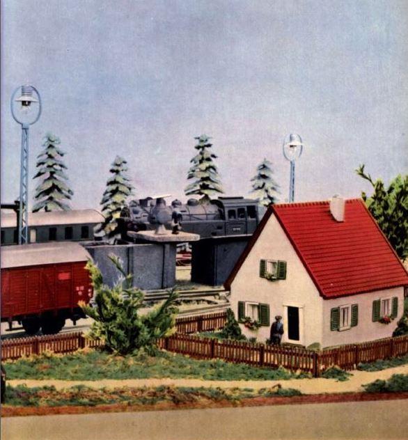 Modellgebäude aus DDR-Zeiten 0310