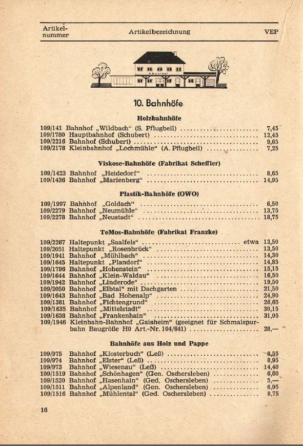 Modellgebäude aus DDR-Zeiten Photo_15
