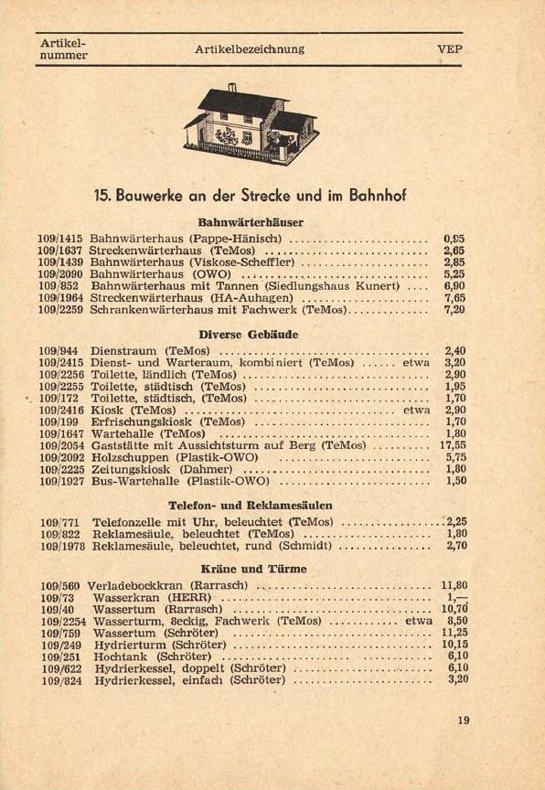 Modellgebäude aus DDR-Zeiten Photo_16
