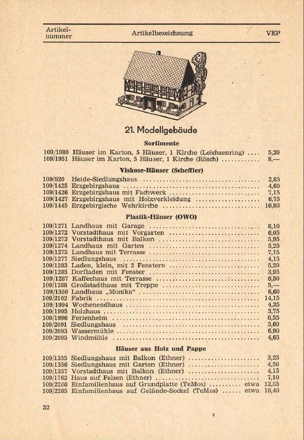 Modellgebäude aus DDR-Zeiten Photo_26
