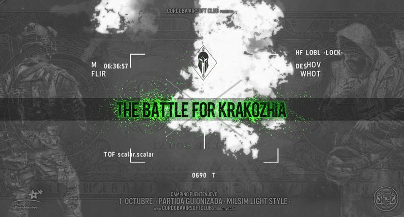 INTERCLUB | The battle for KRAKOZHIA | 1 OCTUBRE | CAMPING PUENTE NUEVO  //SE POSTPONE// Krakho11