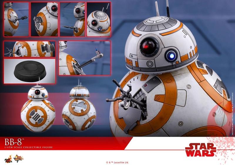 MMS440: Star wars The Last Jedi BB8 31731711