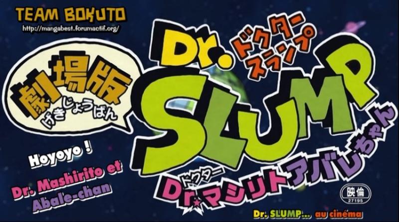 Dr Slump - Film 11 (court métrage de 5 min)  Dr_slu16
