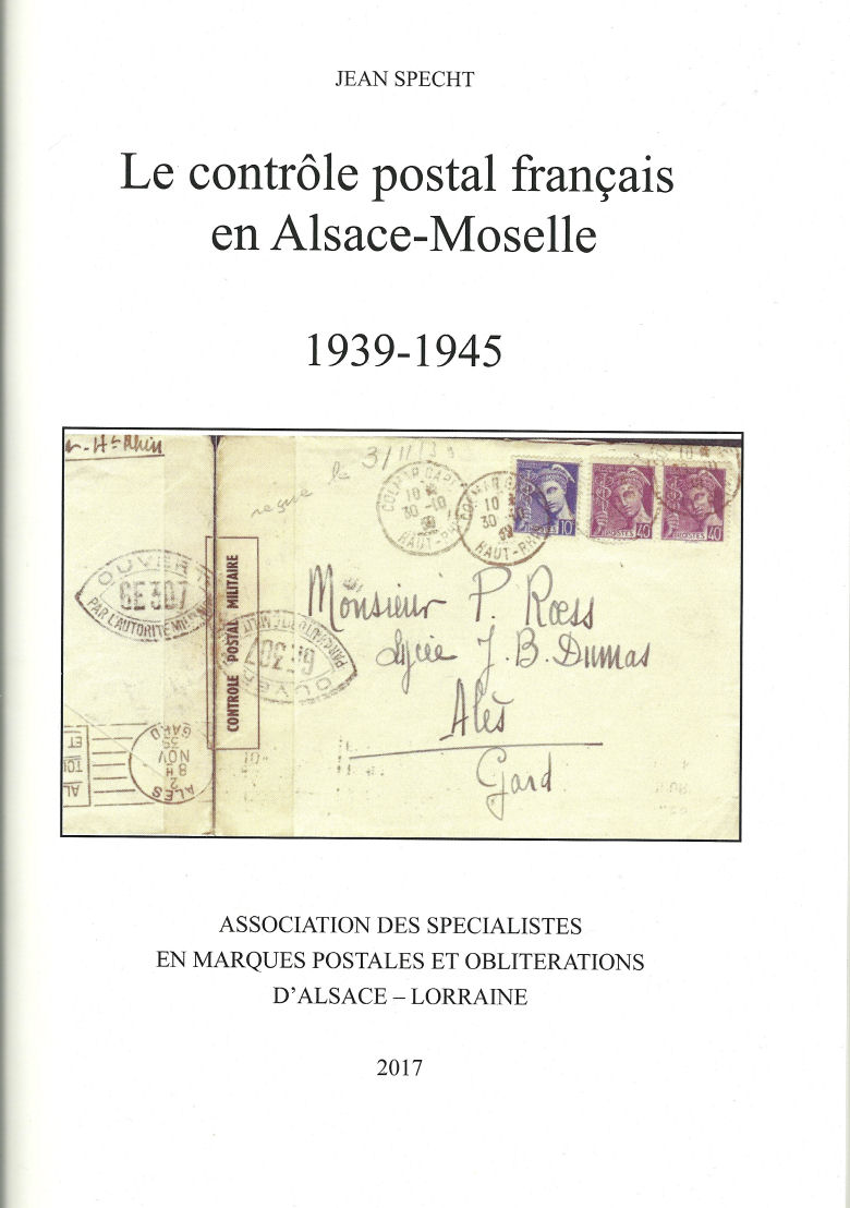 Publication à paraître sur la censure en Alsace et en Moselle Couv_o10