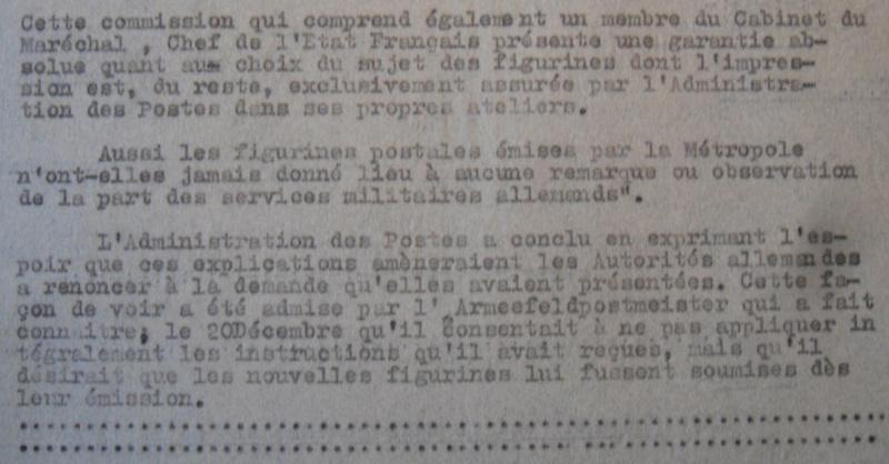 Les émissions de timbres-poste ont failli être soumises à censure en 1944 Extrai10