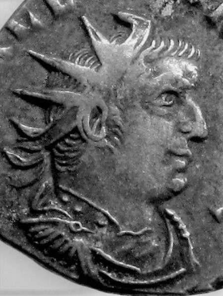 Valerianus I, strange bust Busto210