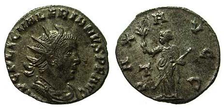 Valerianus I, strange bust Vale_b10