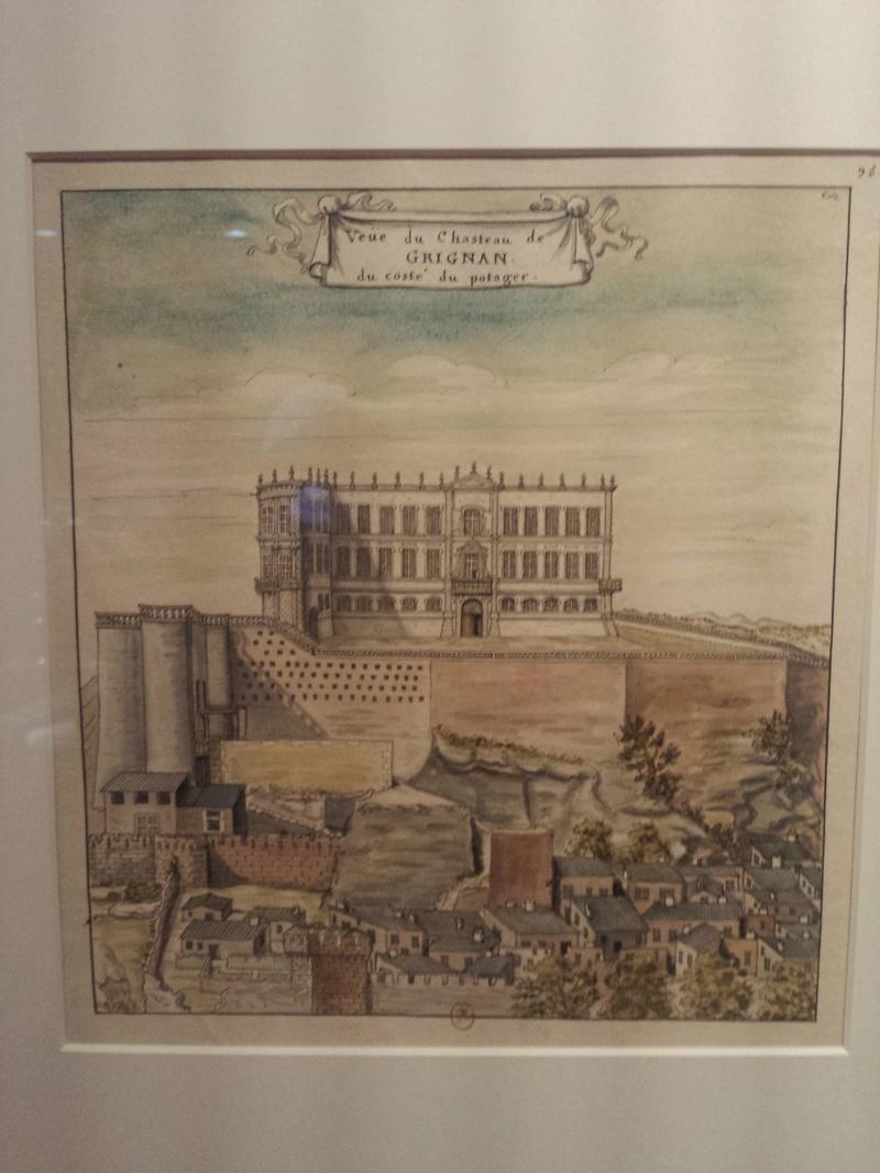 Sévigné, épistolière du Grand Siècle, château de Grignan  20170726