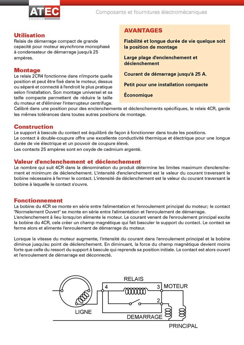 Remplacement d'un relai centrifuge par un relai temporisé Relais12