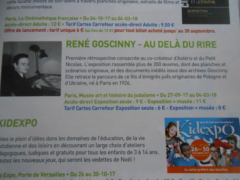 expo GOSCINNY à PÄRIS Dscn9739