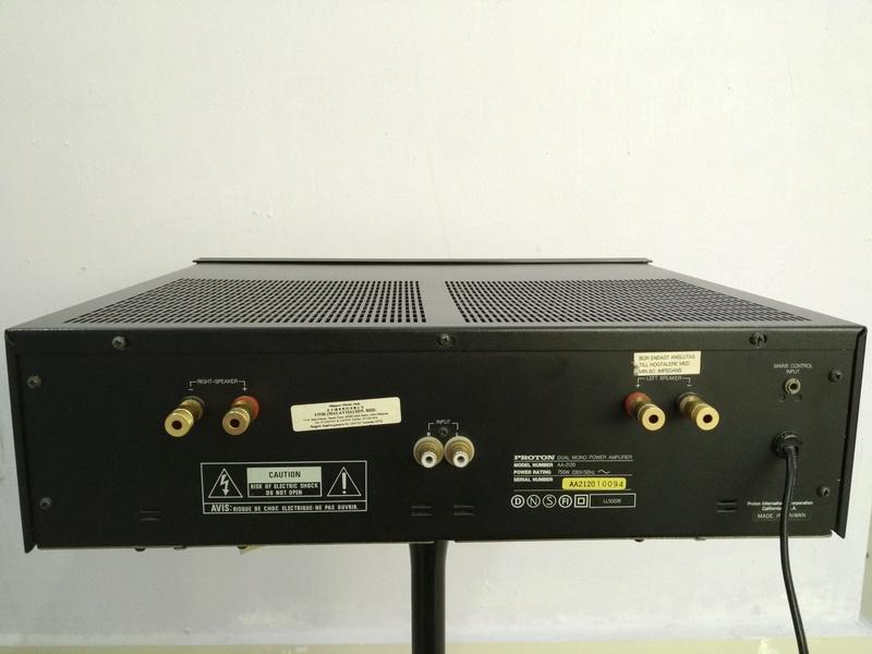 Proton AA-2120 Dual-Mono Power Amplifier Img_2017