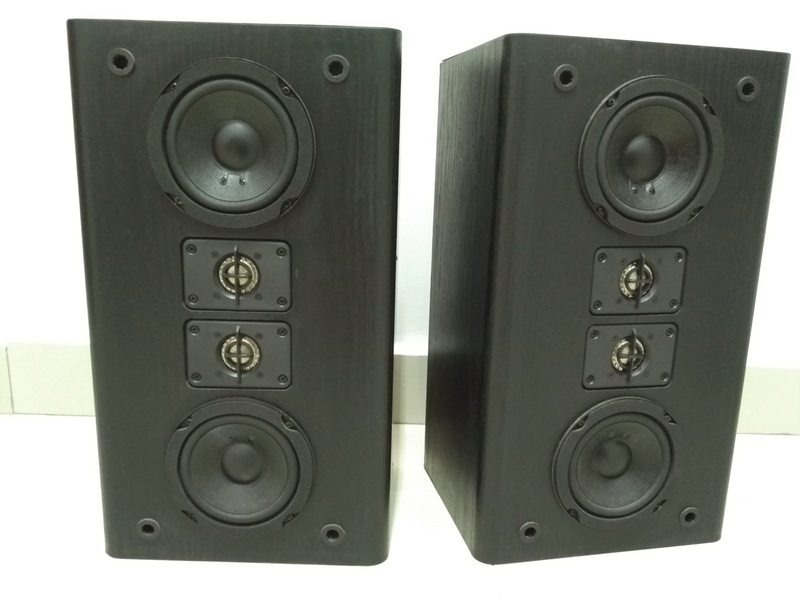 JBL HT1F USA Made Monitor Bookshelf Speaker Img_2158