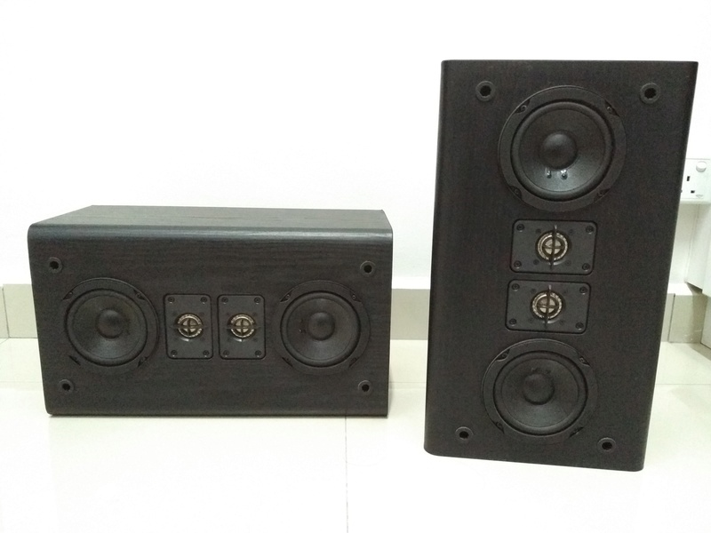 JBL HT1F USA Made Monitor Bookshelf Speaker Img_2159