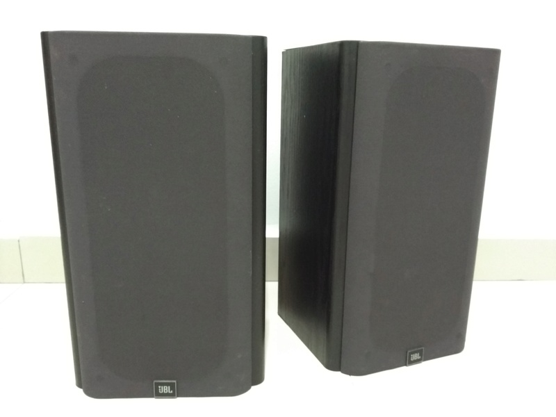 JBL HT1F USA Made Monitor Bookshelf Speaker Img_2160
